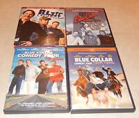 Lot of 4 Blue Collar Comedy Tour (DVD, 5-Discs) WS/FS Cable Guy Engvall White