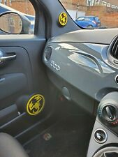Abarth 595 Full Set Large And Small Speaker Covers- Multiple Colours Available