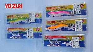 5 x YO ZURI YAKUSHIMA 2.0  SQUID JIG 7 GR JAPAN HAND MADE NIB YO-ZURI