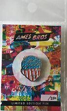 Pearl Jam pin ames bros poster image hartford stars and stripes boy limited ed.