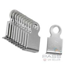 Bolt or Rivetable Right Angled Padlock Eye - Large Stainless Steel Pack of 10