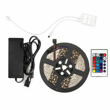 SUPERNIGHT® 10M 5050 RGB 300 LED Strip Light+24Keys Controller+24V Power Supply