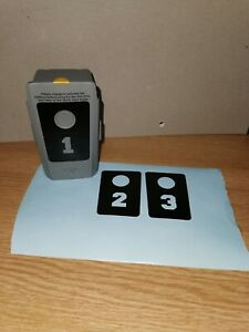 DJI MAVIC AIR 2 BATTERY STICKER SET 1-3   MULTIPLE COLOUR OPTIONS
