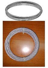 Cable de acero para torno de persiana, 2 mm x 6 mts. Para manivela .Blind.