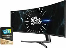 "Samsung CRG9 LC49RG9 49"" 32:9 UltraWide Curved QLED Gaming Monitor 5K New"
