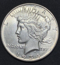 1934 D Peace Dollar BU Brilliant Uncirculated 90% Silver