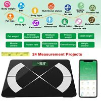 Smart Body Composition Fat Monitor Scale Digital APP Scale BMI Health Analyzer