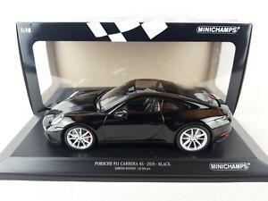Porsche 911 (992) Carrera 4S 2019 Neuf Minichamps 153067329 1:18