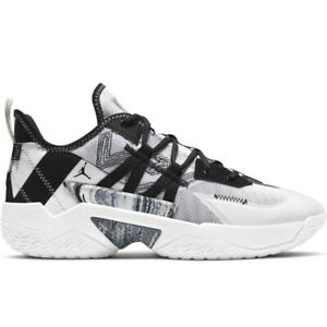 Air Jordan One Take II CW2457-100  White Black Mens Basketball Shoes Sneakers