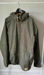Burton Jacket XL Green Washed / Snowboard Jacket /mint