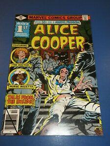 Marvel Premiere #50 Bronze age 1st Alice Cooper Key NM gem wow