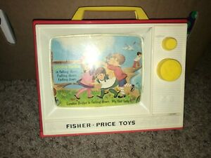 Fisher Price vintage musical television
