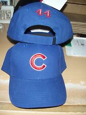 Anthony Rizzo personalized #44 Chicago Cubs Genuine MLB Merchandise  Hat New!