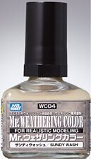 GSI Creos Mr.Hobby WC04 Mr. Weathering Color Sandy Wash 40 ml