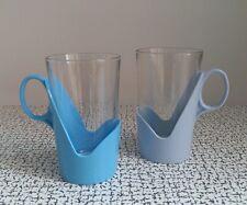 60s 70s Vintage Retro Kitsch Plastic Glass Arcoroc Mugs Cups Camping Picnic