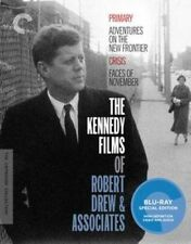 Criterion Collection Kennedy Films of Robert Drew BLURAY