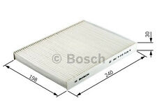 Bosch Cabin Filter 1987432203 Genuine HONDA CIVIC Mk8 1.8 05 to 11 17405RMP R18A