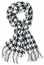 Premium Large Houndstooth Winter Scarf  For Women Man