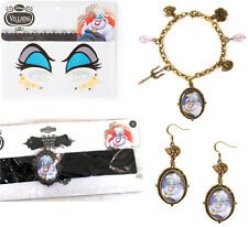 Claire's DISNEY VILLAINS Jewelry & Eye Set URSULA Costume The Little Mermaid