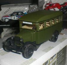 NASH AVTOPROM SOVIET CCCP MODELS AUTOBUS GAZ 03-30 BUS DIECAST SCALE 1/43 NEUF