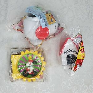 Lot - 3 New SNOOPY AND THE PEANUTS GANG Wendy's Kids Meal Vintage 1998 Toys