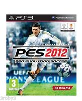 SONY PLAYSTATION 3 PES 2012 PRO EVOLUTION SOCCER 2012 PS3 PAL ITALIANO