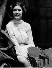 Carrie fisher A4 photo 2