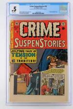 Crime Suspenstories #22 - CGC 0.5 PR - EC 1954 - Classic Decapitation cover!