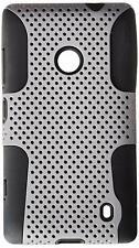 ASMYNA Astronaut Phone Protector Cover for Nokia Lumia 520 Grey/Black