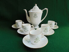 ART DECO GRAFTON MLC COFFEE SET METHODIST LADIES COLLEGE c1930 LIKE NEW