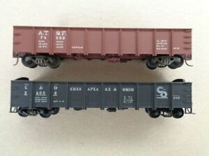 HO Scale Gondola cars (4) Used in Excellent Condition