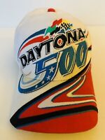 Rare Vintage 2002 DAYTONA 500 red cap Hat NASCAR Dale Earnhardt Racing