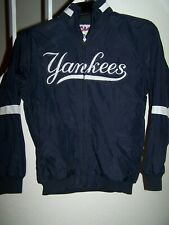 youth's size 10-12 Medium New York Yankees logo jacket/lined /by Majestic.