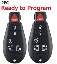 2 Car Remote Key Fob for Chrysler Town and Country 2008 2009 2010 2011 2012 2013