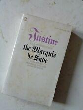 VINTAGE PAPERBACK EROTIC MARQUIS DE SADE JUSTINE CORGI RARE 1960S
