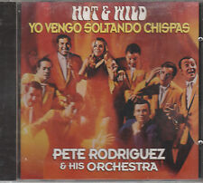 Pete Rodriguez - Hot and Wild - Rare Non-Remastered Brand New CD - 1216