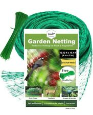 Bird Netting - Protect Plants and Fruit Trees from Birds and Wildlife – 13.12Ft