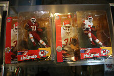 Mcfarlane Sportspicks Priest Holmes 2x Series 6 Red & White Jerseys Nfl Jsh