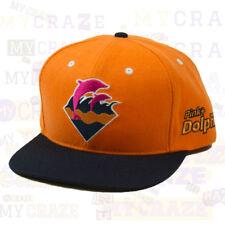 Pink Dolphin Orange Snapback Cap