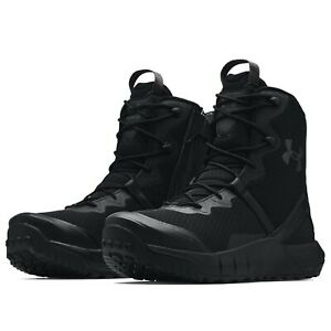 Under Armour 3023748 Men's UA Micro G Valsetz Side Zip Tactical Boots Shoes