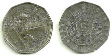 AUSTRIA MONEDA DE 5 EURO EN PLATA SILVER SILBER (WINTERSPIELE 2010) (SC/UNC)