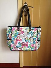 New Thirty One LARGE Cindy utility Tote Shoulder  Bag gifts Butterfly