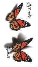 tatouage temporaire tatoo sticker body art papillons papillon