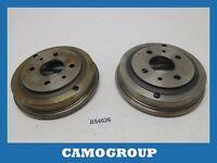 Pair Drums Brake Pair Of Brake Drum Vema For FIAT 126 600 850 Lancia Delta