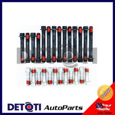 Cylinder Head Bolts Set For 97 Chevy S10 ZR2 SS LS Base 4.3L V6 OHV VIN CODE X W