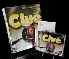 Vintage PC Computer CD Game Clue Big Box