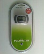 SPORTLINE STEP PEDOMETER 330 10K-100K Count Large Display Counter TG3474BK NEW