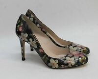 L.K.BENNETT Ladies Multi-Coloured Leather Floral Heels Court Shoes UK6 EU39