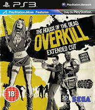 La HOUSE OF THE DEAD OVERKILL-Extended Cut ~ ps3 (in ottime condizioni)