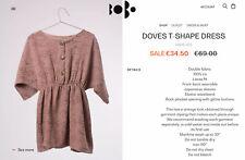 €69 Bobo Choses Doves Crepe Dress, Size (5) 6 - 7 Years
